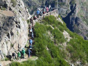 Wanderungen Levada Pico Areeiro