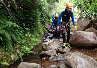 Canyoning on Ribeira das Cales 1