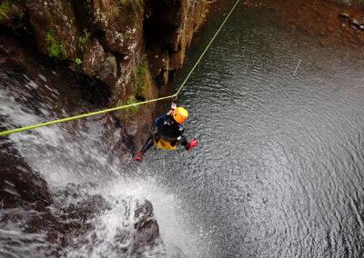 Canyoning on Ribeira do Lajeado