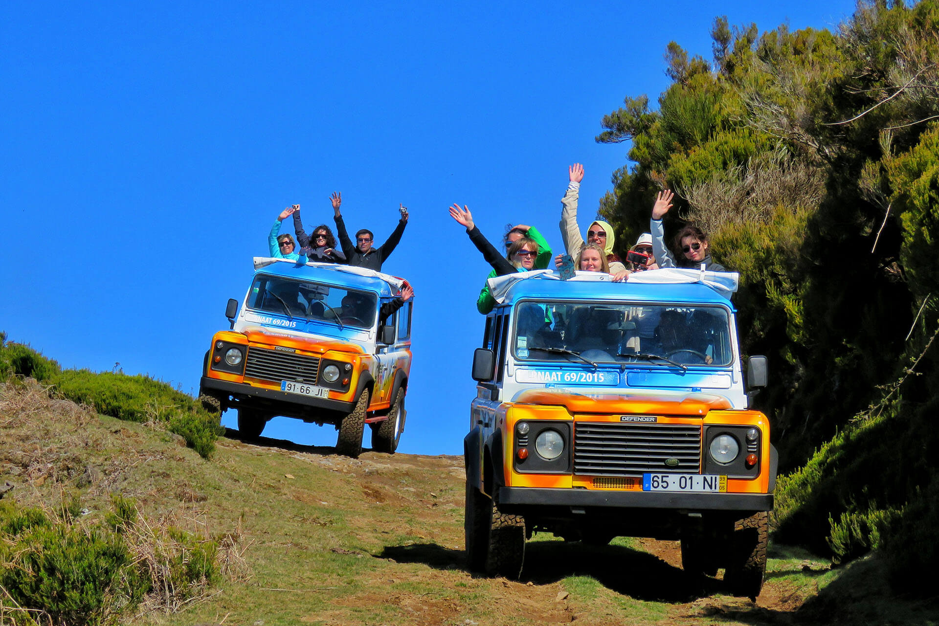 4x4 Jeep Safari Sudoeste - Craters of Fire