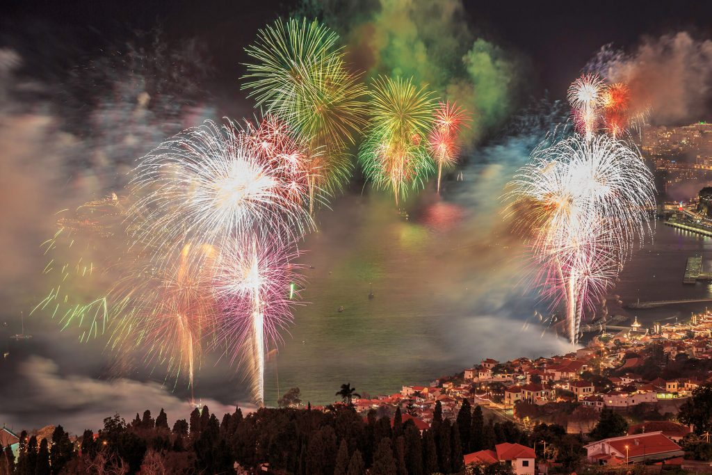Cruzeiro de Ano Novo bonita da Madeira