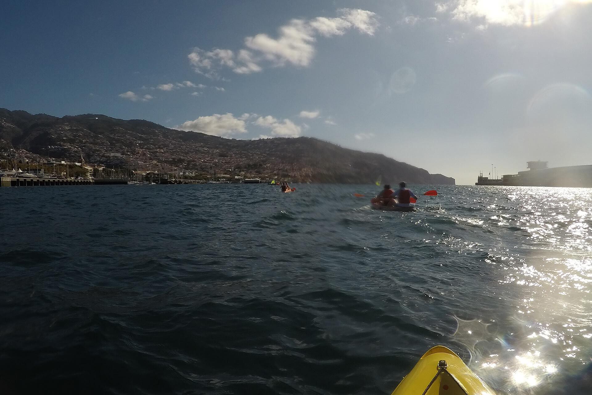 Kayak to Câmara de Lobos 11