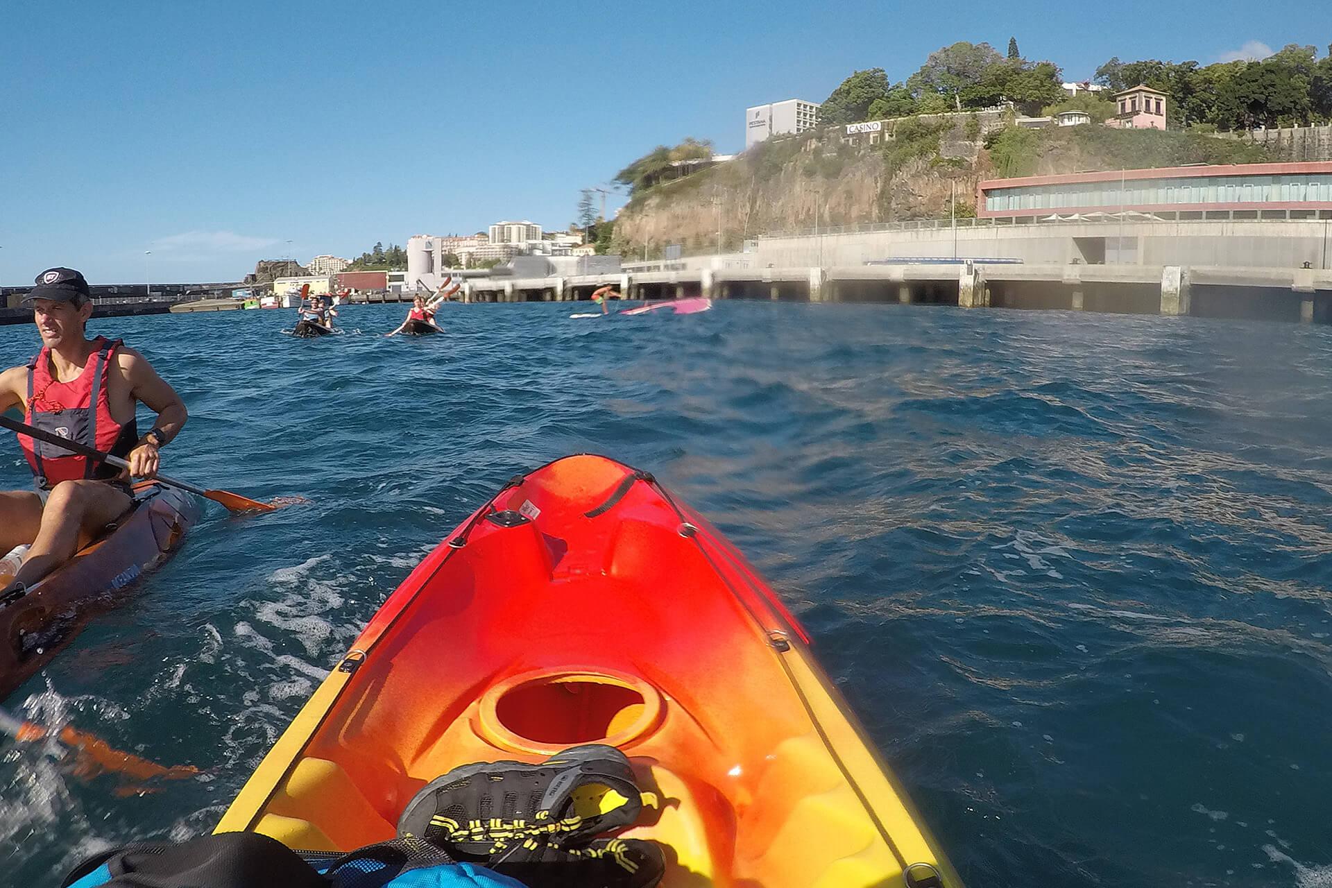Kayak to Câmara de Lobos 10