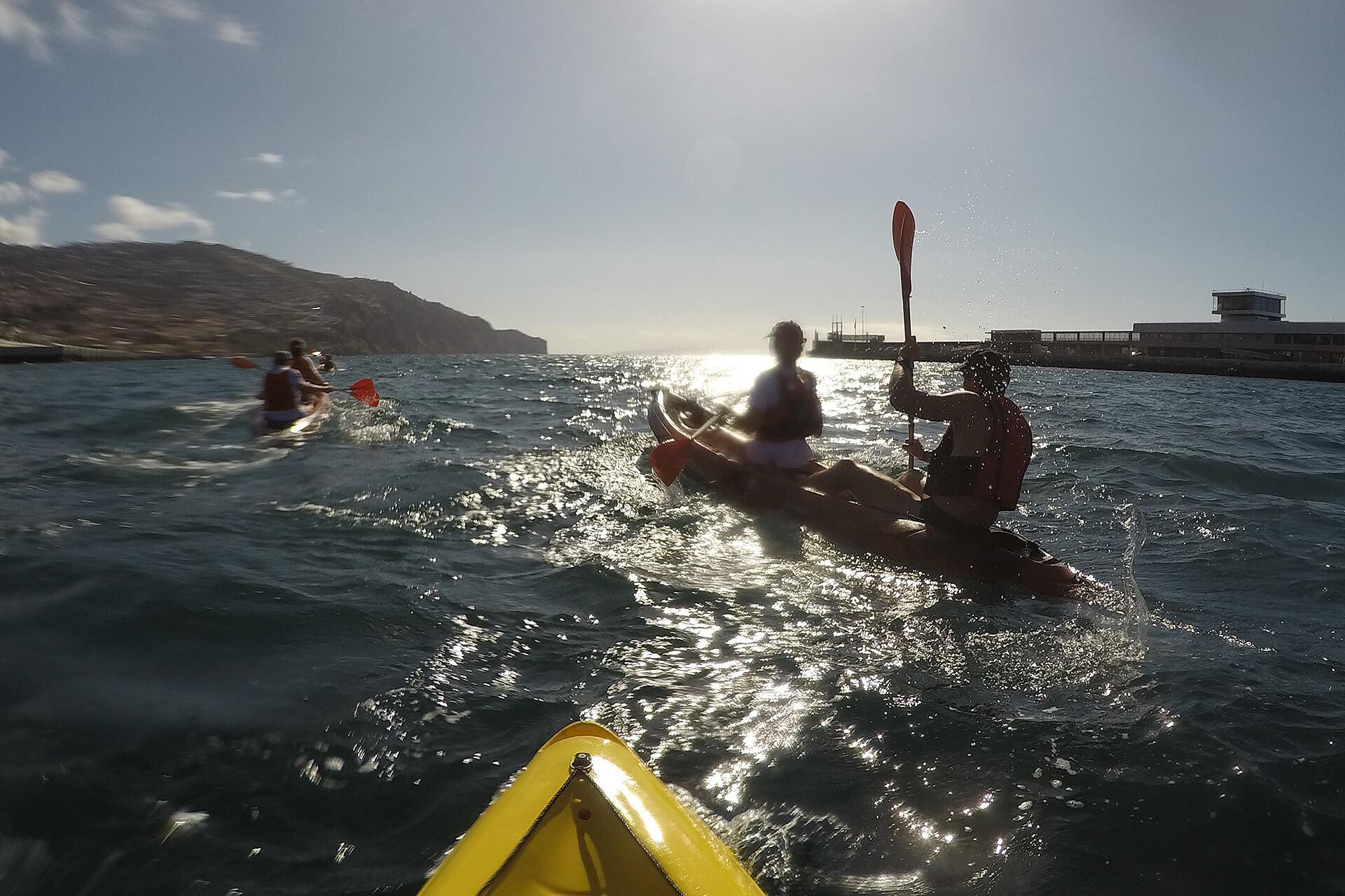Kayak to Câmara de Lobos 9