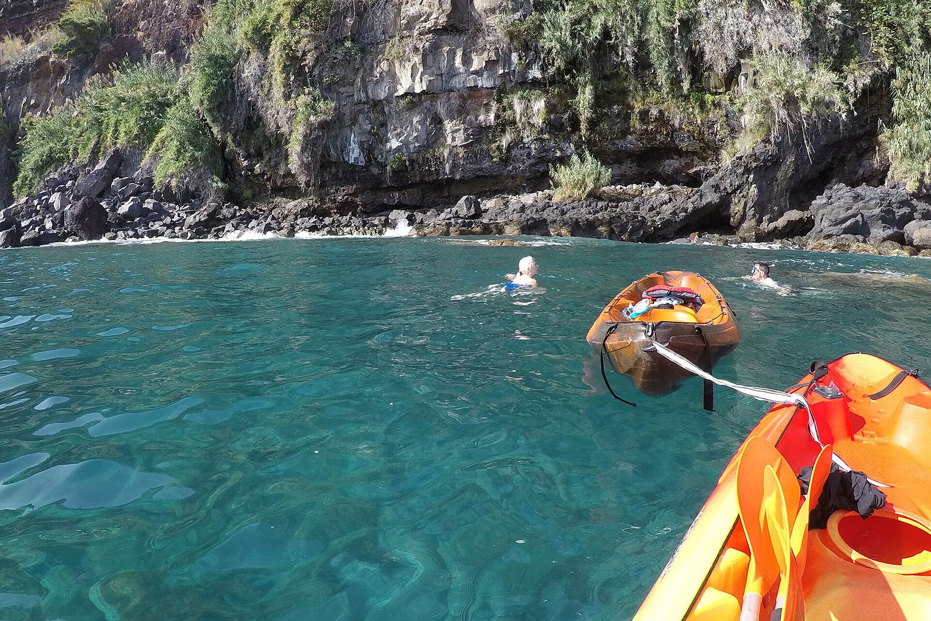 Kayak to Câmara de Lobos 7