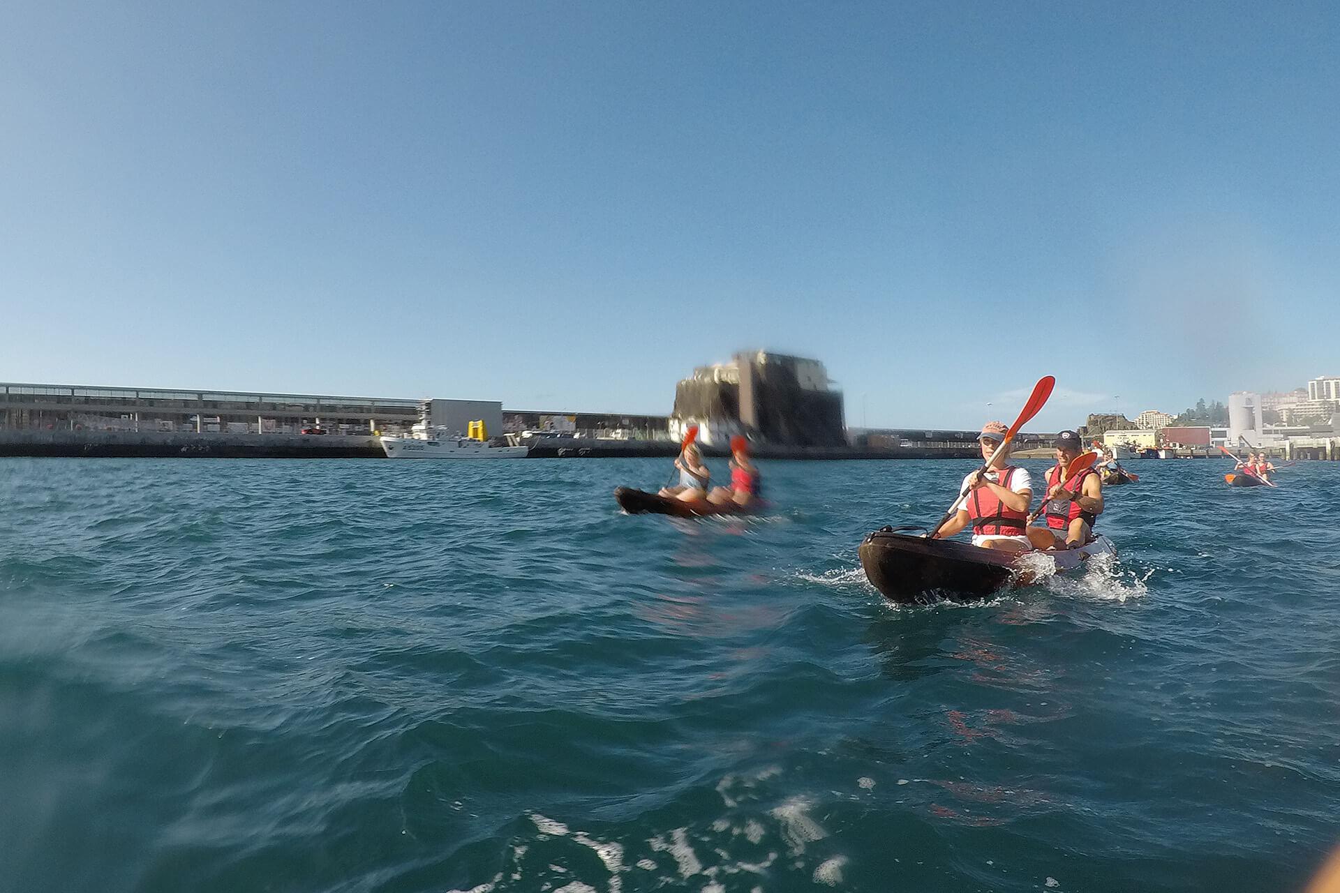 Kayak to Câmara de Lobos 12