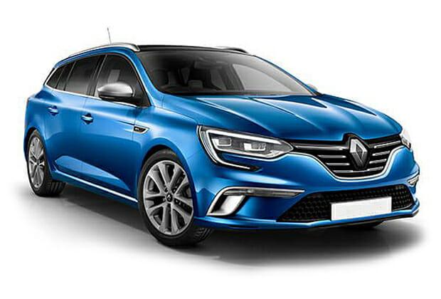 Travel Agency - Renault Clio Diesel white